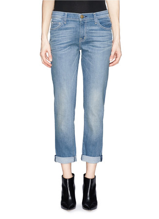 'The Fling' whiskered jeans