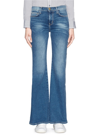 'The Girl Crush' flare jeans