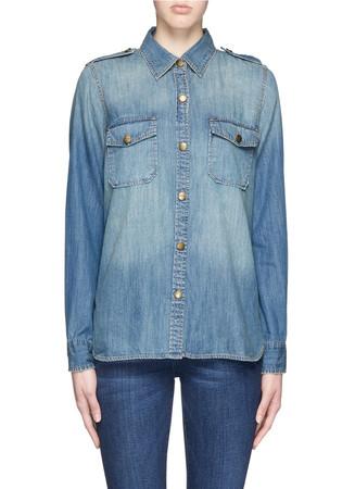 'The Perfect Shirt' cotton denim shirt