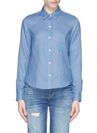 'Tianmer' ramie shirt