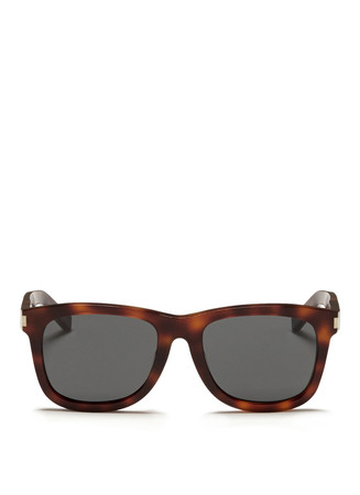 Tortoishell acetate sunglasses