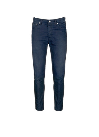 'Town Twilight' cropped tapered jeans