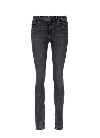 'Wang 001' washed skinny jeans