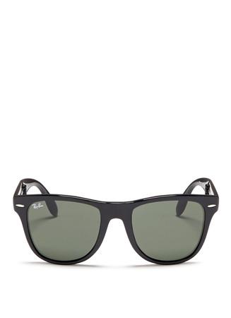 'Wayfarer Folding Classic' acetate sunglasses