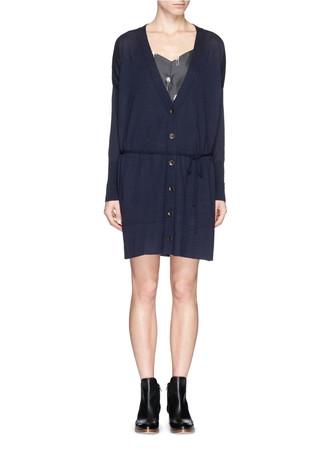 'Whitney' cashmere maxi cardigan