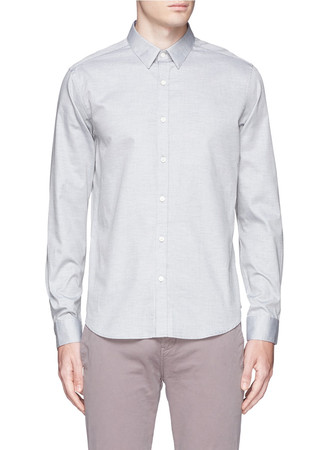 'Zack PS' cotton pinpoint Oxford shirt