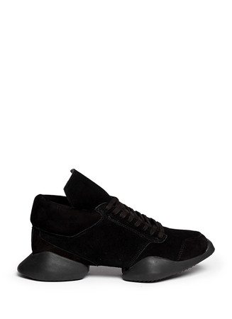 x Adidas 'Runner' angular suede sneakers