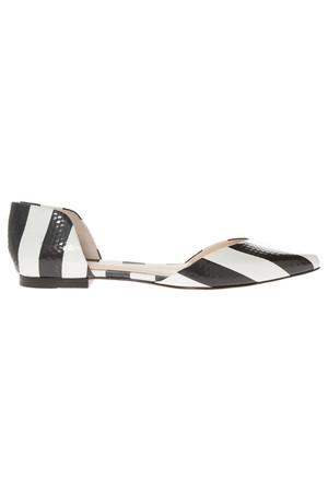 3.1 Phillip Lim Women`s Devon Dorsay Flat Shoe Boutique1