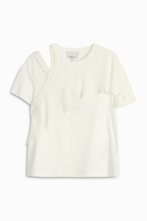 3.1 Phillip Lim Women`s Ruffle T-shirt Boutique1