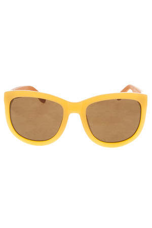 The Row Women`s Acetate With Taupe Leather Sunglasses Boutique1