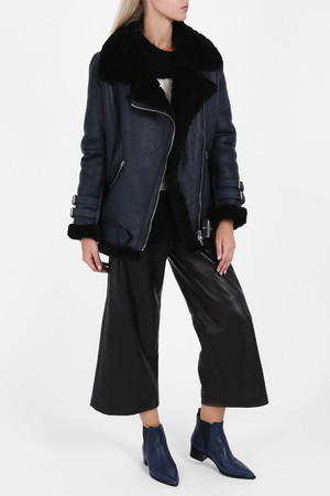 Acne Studios Women`s Velocite Aviator Jacket Boutique1