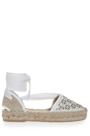 Oscar De La Renta Women`s Adriana Leather Espadrilles Boutique1