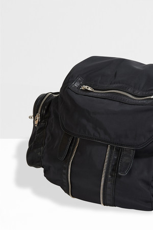 Alexander Wang Women`s Marti Nylon And Leather Backpack Boutique1