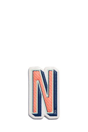 Alphabet N Sticker