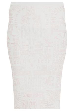 Mary Katrantzou Women`s Alphabet Pencil Skirt Boutique1