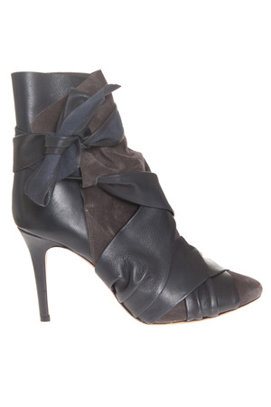 Isabel Marant Women`s Angie Leather Boot With Detail Boutique1
