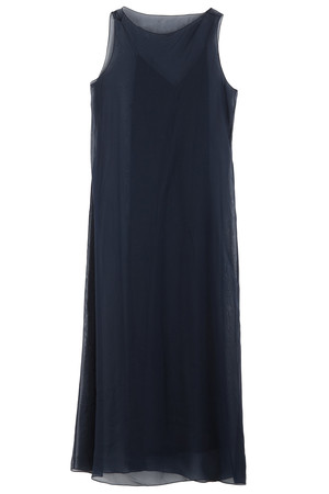 The Row Women`s Anmar Chiffon Overlay Dress Boutique1