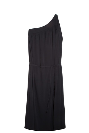 Helmut Lang Women`s Asymmetric Shoulder Dress Boutique1