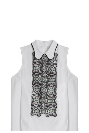 Peter Pilotto Women`s Atom Embroidered Shirt Boutique1