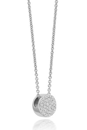 Ava Button Necklace