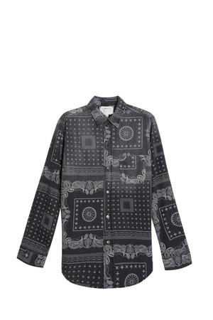 Current/elliott Women`s Bandana Shirt Boutique1
