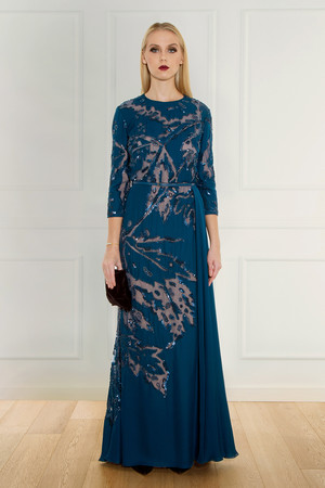 Elie Saab Women`s Beaded Gown Boutique1
