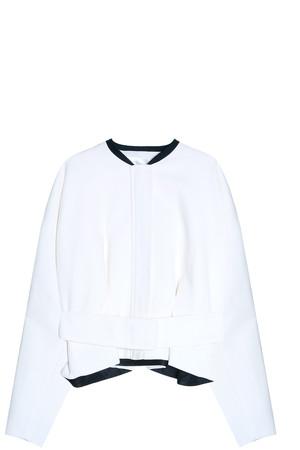 Victoria, Victoria Beckham Women`s Belted Crop Jacket Boutique1