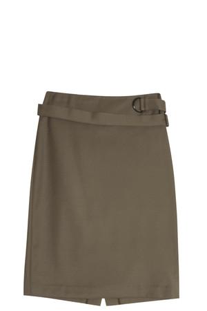 3.1 Phillip Lim Women`s Belted Pencil Skirt Boutique1