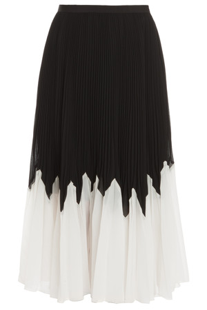 Raoul Women`s Betty Pleated Midi Skirt Boutique1