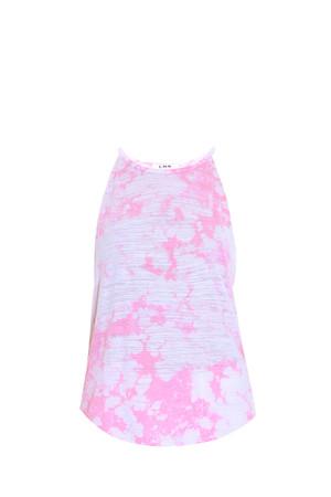 Lna Women`s Bib Tie Dye Tank Boutique1