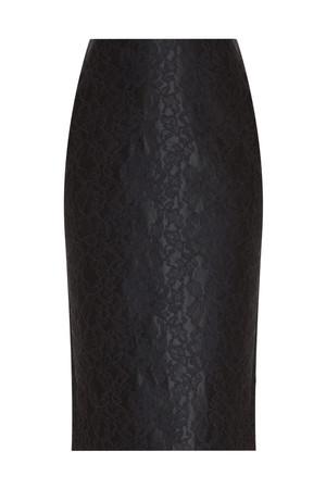 Adam Lippes Women`s Bonded Lace Pencil Skirt Boutique1