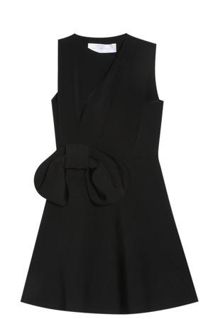 Victoria, Victoria Beckham Women`s Bow Draped Dress Boutique1