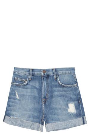 Current/elliott Women`s Boyfriend Shorts Boutique1