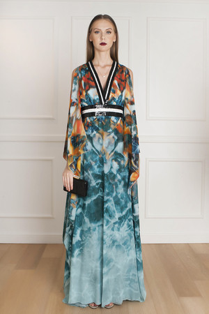 Elie Saab Men`s Butterfly Sleeve Gown Boutique1