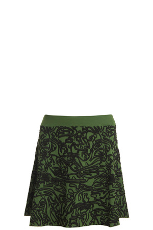 Opening Ceremony Women`s Cabbage Flare Skirt Boutique1