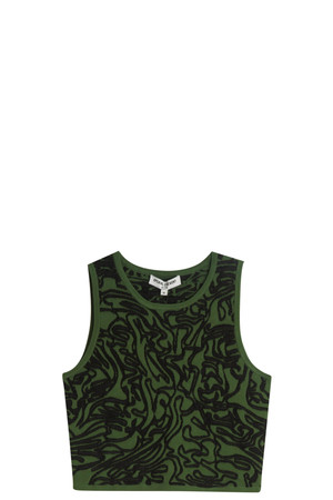 Opening Ceremony Women`s Cabbage Tank Top Boutique1