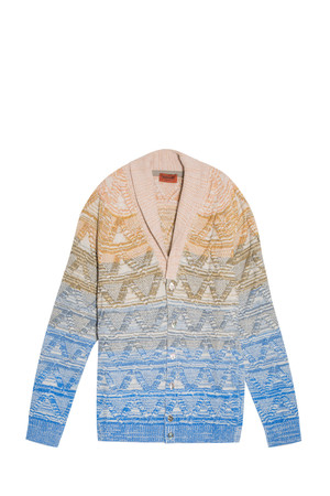 Missoni Men`s Cable Knit Cardigan Boutique1