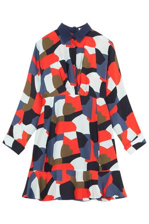 Paul Joe Women`s Camo Print Shirt Dress Boutique1