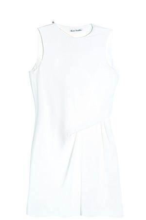Acne Studios Women`s Caprice Crepe Dress Boutique1