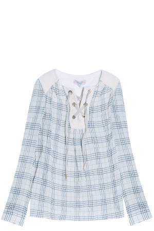 Paul Joe Sister Women`s Check Blouse Boutique1