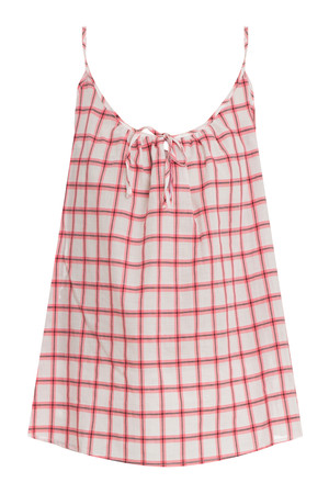 Paul Joe Women`s Check Cotton Camisole Boutique1