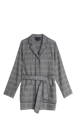 Alexander Wang Women`s Check Jacket Boutique1