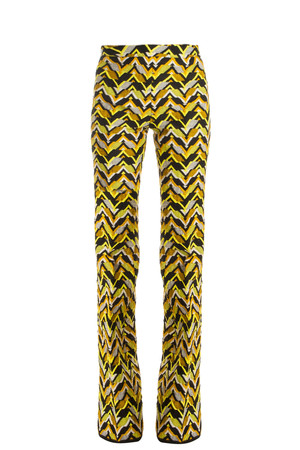 Giambattista Valli Women`s Chevron Woven Trousers Boutique1