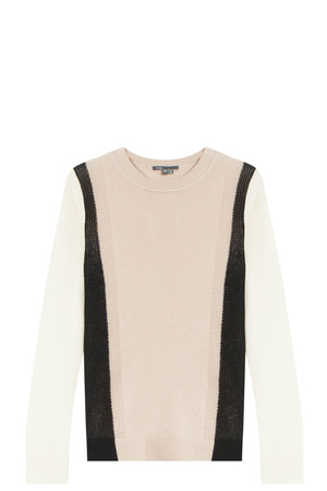 Vince Women`s Color Blocked Top Boutique1