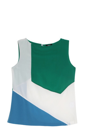 Raoul Women`s Colour Blocked Top Boutique1