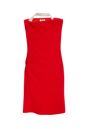 Acne Studios Women`s Cowl Dress Boutique1