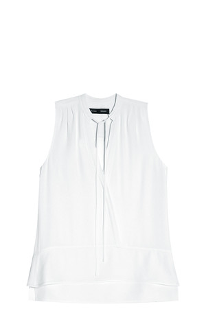 Proenza Schouler Women`s Crepe Blouse Boutique1