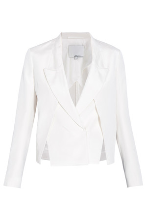 3.1 Phillip Lim Women`s Cropped Jacket With Front Slits Boutique1