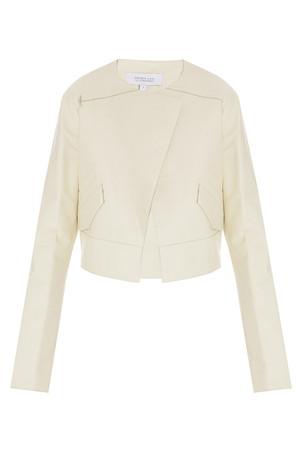Derek Lam 10 Crosby Women`s Cropped Leather Jacket Boutique1