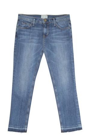 Current/elliott Women`s Cropped Straight Jeans Boutique1